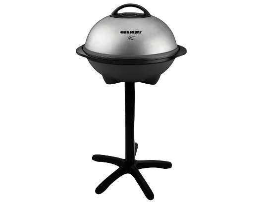 George Foreman 15-Serving Indoor Outdoor Electric Grill