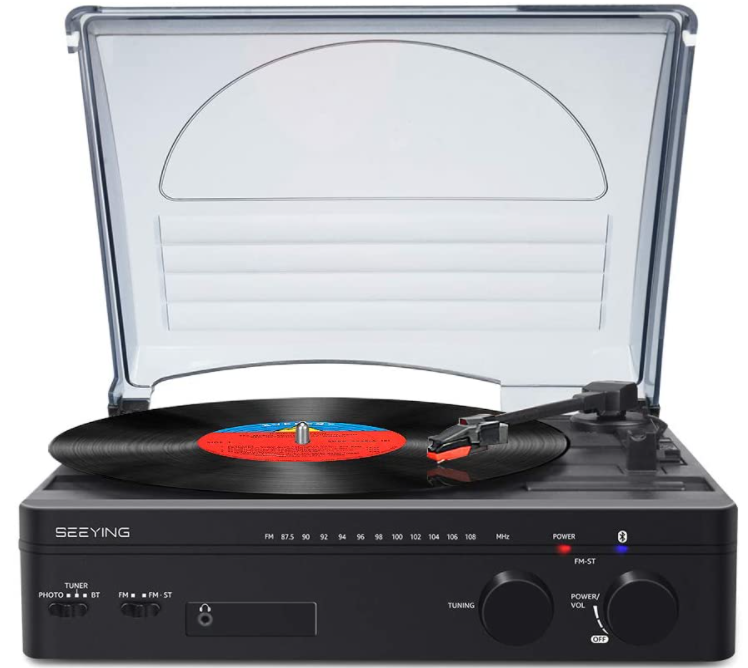 Record-Player-with-Speakers-Bluetooth-Turntable