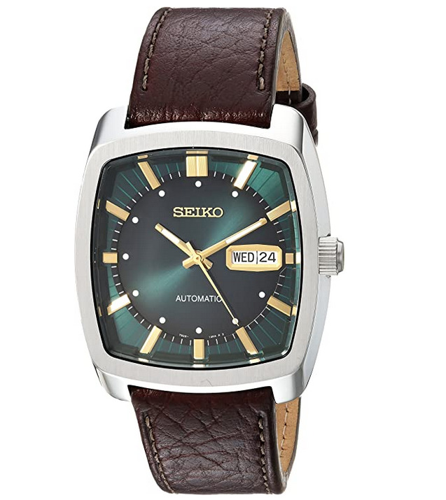 Seiko Men's Recraft Series Automatic Leather Casual Watch